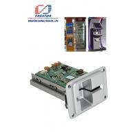 Buy cheap Hybrid Manual Insertion RFID EMV RS232 Kiosk Card Reader For Magnetic / IC Card product