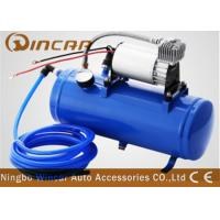 Quality DC 12v Portable Car Tire Pump 6L Tank Metal Material 1*30mm Cylinder for sale