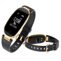 China Bluetooth Waterproof Smart Watch Women Fashion S3 Ladies Heart Rate Monitor Fitness Tracker Lady watches for Android IOS on sale