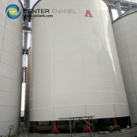 Buy cheap 30000 Gallons Glass Lined Steel Bolted Biogas Storage Tanks product