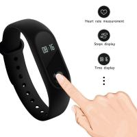 China OLED Smart Bracelet Sport Watch Silica Gel Band For Social Sharing Wechat on sale