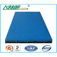 Quality EPDM Granule Red safety pad / rubber floor mat  / gym rubber floor mat for sale