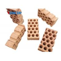 Buy cheap Corrosion Resistance High Alumina Refractory Bricks Industrial High Duty Firebrick product