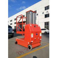 Buy cheap Lift Capacity 200kg , Max Height 7.5m Self-Propelled Aluminum Aerial Work Platform with 2 Masts product