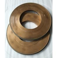 Buy cheap Flat Abrasive Diamond Grit Grinding Wheel Resin Bonded Thickness 40mm Width 10mm product
