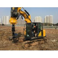 Quality CE Small Rotary Driling Rig Boring Rig For Different Soil / Innovativly Research  Machine TYSIM KR40A for sale