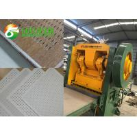 Buy cheap Gypsum Board Perforated Sheet Making Machine For Ceiling And Wall Decoration product