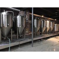 Buy cheap 2000L Large Scale Brewing Equipment 304 Sanitary Pumps With VFD Controls product
