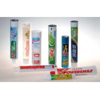 Buy cheap EVOH / Plastic / Aluminium Barrier LaminateToothpaste Tube Packaging  product