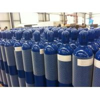 Buy cheap 25L - 52L Seamless Steel Compresses Gas Cylinder For High Purity Gas ISO9809-1 product