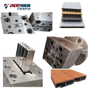 Buy cheap Double Screw Wood Plastic Composite Production Line PE PVC WPC Profiles Machine product