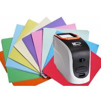Buy cheap Xenon Lamp Sensor Portable Color Spectrophotometer 20000 Test Results Data Storage product