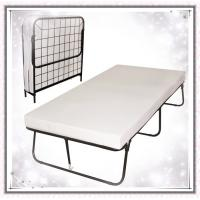 Buy cheap Foldaway Guest Bed Cot with Memory Foam Mattress Twin Size from wholesalers
