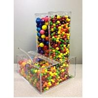 Buy cheap Eco-Friendly Candy Acrylic Display Cases Storage Box Dispenser product