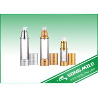 Quality Silver Gold Pump Airless Bottle Airless Bottle 50ml 30ml 15ml for sale
