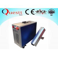 Buy cheap 60 W Portable Fiber Laser Rust Removal Machine For Cleaning Rusty Metal from wholesalers
