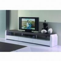 Buy cheap TV Stand with MDF, High Glossy, Painting and Hardware product