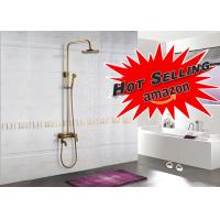 Buy cheap 3 Way Free Transform Rainfall Shower System Antique Bronze Telephone Design product