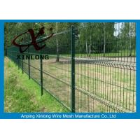 Buy cheap Dark Green 3D Wire Mesh Fence Powder Sprayed Coating Valuable product