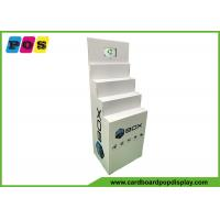 Buy cheap Four Steps Electronic Products Cardboard Display Stands With 7 Inch LCD Screen FL220 from wholesalers