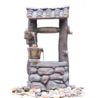 Buy cheap Customized Design Outdoor Tiered Water Fountains In Chinese Well Shape  product