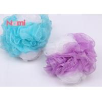 Quality Natural Large Shower Bath Sponge Body Exfoliating Costomized With Long Rope for sale