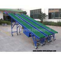 Incline Mobile Grain Truck Loading Belt Conveyor With Large Dip And