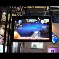 Buy cheap P7.62mm SMD Indoor Full Color Advertising LED screen 17222dot / ㎡ For Hotel product