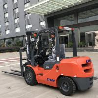 Buy cheap TCM Technology Diesel Forklift Truck 1220mm Fork Length With Hydraulic System product