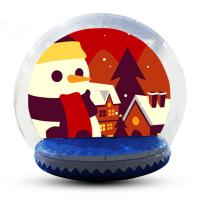 Buy cheap Large Inflatable Snow Globe For Outdoor Christmas Decoration EN14960 product
