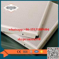 Buy cheap China supplier / manufacturer aluminum round hole perforated metal ceiling product