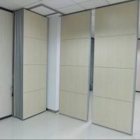 Buy cheap Fashion Office Partition Walls With Aluminum Frame Hanging System Interior from wholesalers
