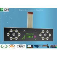 Buy cheap Round PET Circuit Embossing Membrane Switch 0.5mm Pitch ZIF Wirelead Multi - Keys product