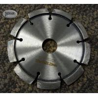 Buy cheap 125mm Crack Chaser Tuck Point Diamond Blades With V Grooved Segment 10mm Thick product
