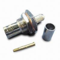 Buy cheap RF Coaxial Connector BNC, JACK BKD CRIMP FOR RG58 product