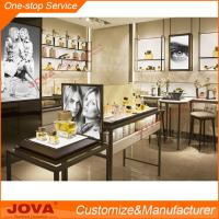 Quality Perfume Store Display Shelf Stands Rack Cabinet Showcase For  Cosmetic Shop Counter Design For Sale