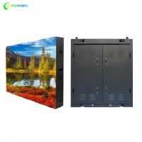 Buy cheap P10 Stage Rental LED Display Steel Aluminium Cabinet Design FCC UL Approved product