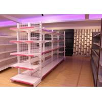 Buy cheap Metal Supermarket Racks For Daily Chemical Products product