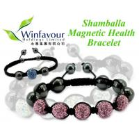 Buy cheap Shamballa magnetic hematite bracelet product