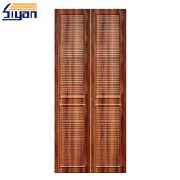 Buy cheap High Density MDF Louvered Closet Doors Wood Grain With 860 Kgs/M³ Density product