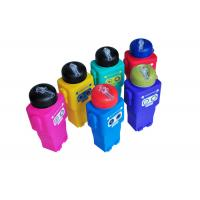 Buy cheap Robot Shaped Collapsible Silicone Water Bottle BPA Free Easy Wash / Non Toxic product