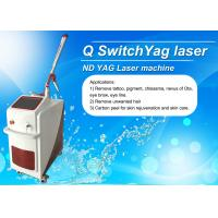 Buy cheap Dual Lamp Q Switched ND YAG Laser Machine Tattoo Removal / Pigmentation Removal from wholesalers