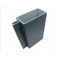 Buy cheap Exterior Decoration Facades Curtain Wall Aluminum Frame For Curtdely product