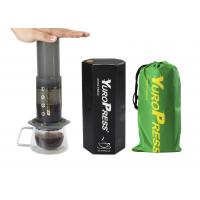 Buy cheap Portable 350ML Aeropress Coffee Maker Wuth Stainless Steel Coffee Filter Disc from wholesalers
