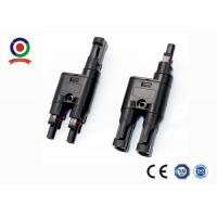 Quality Multi Contact Mc4 T Branch Connector Male Female Gender PPO 30A 2 To 1 IP67 for sale