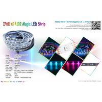 Quality Addressable IP68 APA102 Magic Color LED Pixel Strip Light for Buildings, Bridge or Underwater for sale
