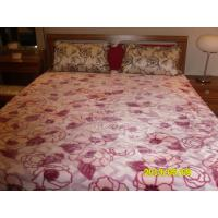 Buy cheap Antistatic Pink Purple Micro Fiber Blanket Printed Cozy With 100% Polyester product