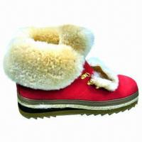 Buy cheap Popular Winter Casual Boots, Nubuck Upper with Sheepskin Collar product