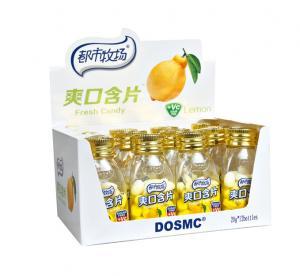 Buy cheap 20g Bottle pack Vitamin C Sugar free mint candy lemon fresh candy Pepper mint Sorbitol product