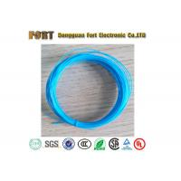 Buy cheap Stranded Silver Plated PTFE Hook Up Wire , 18AWG 20AWG Insulated Copper Wire product